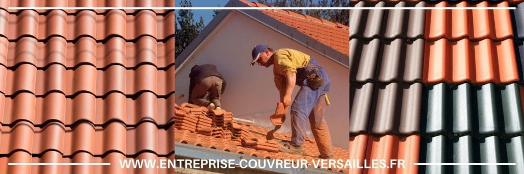 Installation de tuile Sèvres