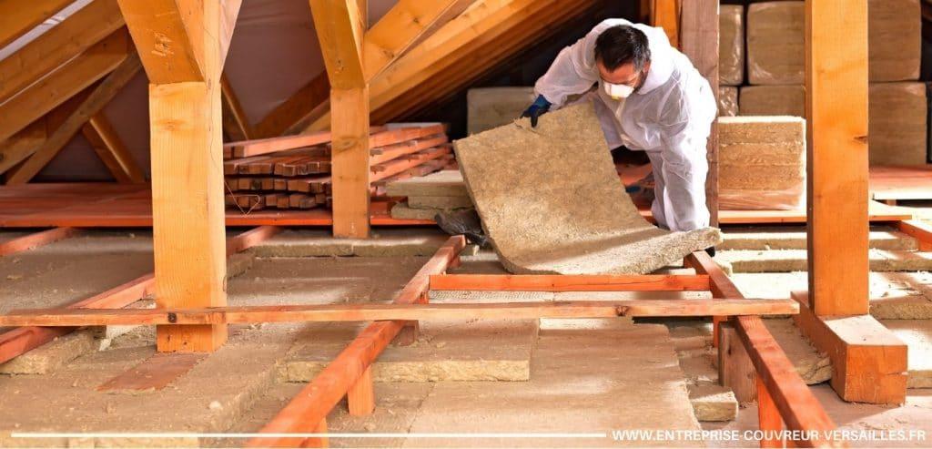 isolation de toiture versailles
