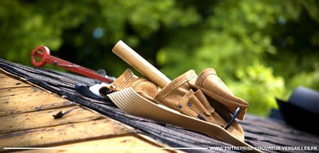 matériel et outil du couvreur versailles