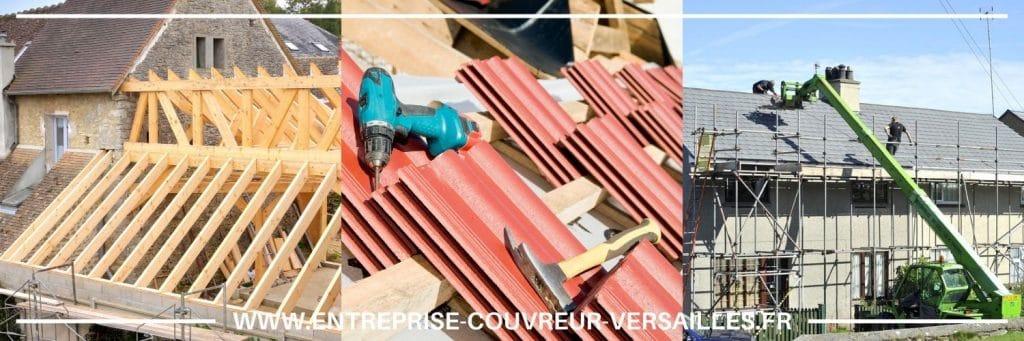 Réparation de toiture à Le Chesnay, 78150  en Yvelines