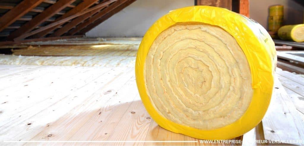 pose de laine de verre isolation Viroflay combles
