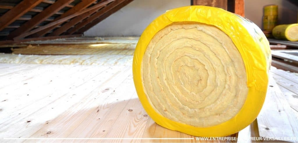 pose de laine de verre isolation combles guyancourt