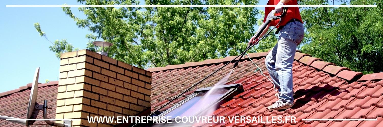 Nettoyage toiture à Louveciennes